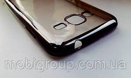 Чехол силиконовый с бампером под металик Samsung J310 (2016)