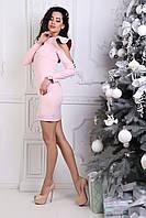 Платья женские оптом (42-48) креп-костюм
