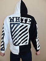 Худи Off-White.Black/White.Унисекс