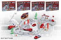 Іграшковій набір Автотрек Пожежна станція,  арт. CM557-12,  метал