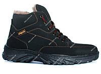 Ботинки зимние для мужчин эко-нубук (СГ-5ч)