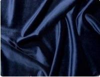 Стрейч-бархат гладкий темно-синий