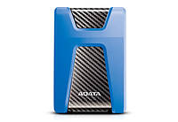 Жесткий диск ADATA HD650 Blue 1TB (AHD650-1TU31-CBL) 2.5 USB 3.0 External HDD