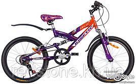 Велосипед KINETIC NINJA оранжево-фіолетовий