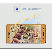 Защитное стекло Mocolo Full сover для Nokia 8 золотой