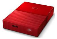 Жесткий диск Western Digital 3TB My Passport Red 2.5 USB 3.0 (WDBYFT0030BRD-WESN)