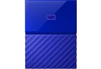 Жесткий диск Western Digital 1TB My Passport Blue 2.5 USB 3.0 (WDBYNN0010BBL-WESN)