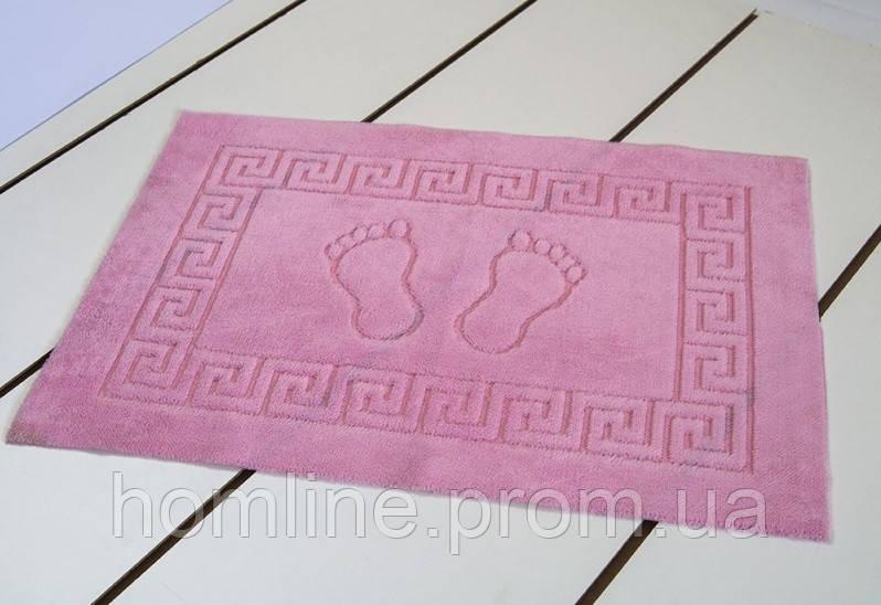 Коврик для ванной Lotus 45*65 розовый