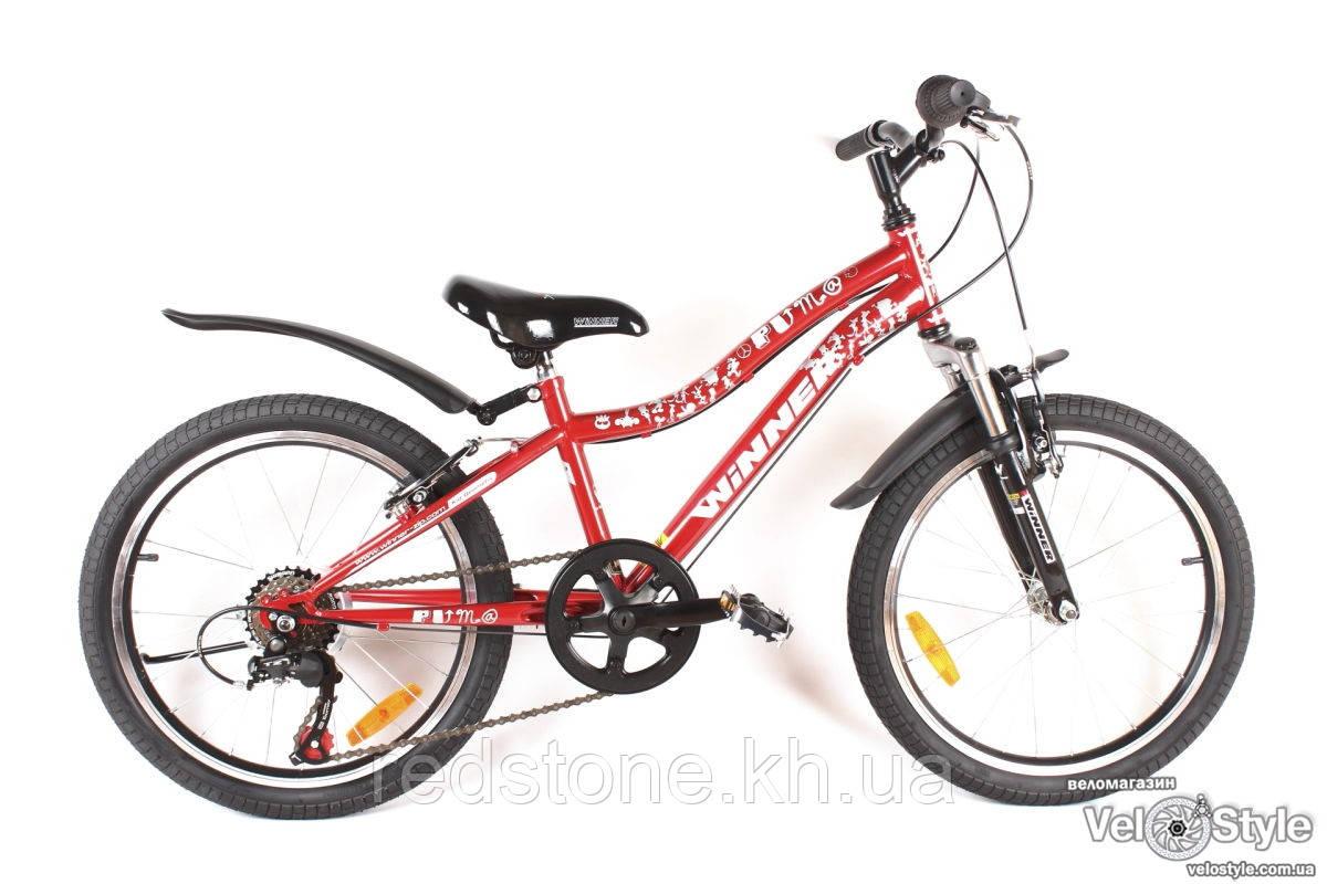 Велосипед Winner PUMA красный