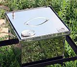 Коптильня из нержавеющей стали (300х300х200), фото 2