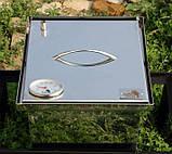 Коптильня из нержавеющей стали (300х300х200), фото 7