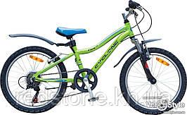 "Велосипед CYCLONE VIVA 2016 зелений, колеса 20"""