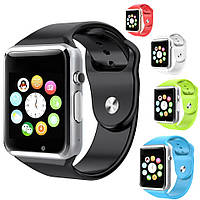 Умные часы Smart watch A1, звонки, интернет, сообщения, фото 1