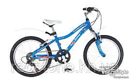Велосипед CYCLONE FANTASY 2016 синий, рама 28 см
