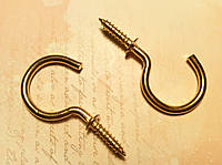 Крючек для ключницы 216 50*23мм 2шт бронза