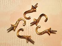 Крючек для ключницы №7 45*20мм 5шт бронза