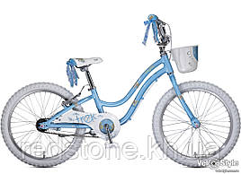 Велосипед TREK Mystic 20, блакитний, колеса 20