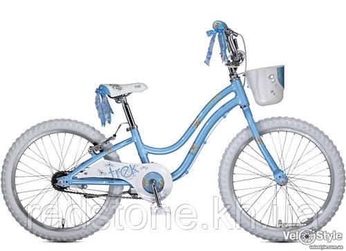 Велосипед TREK Mystic 20, голубой, колеса 20¨