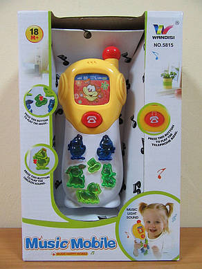 Телефон для малышей арт. 5815, музыка, свет