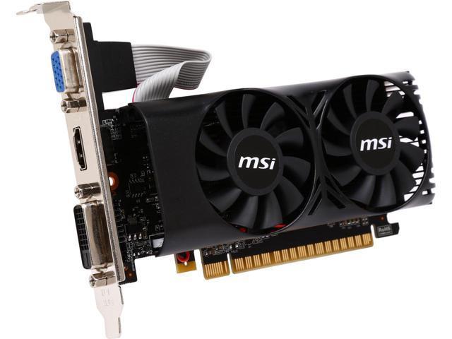 "Видеокарта MSI GeForce GTX 750 Ti (N750Ti-2GD5TLP) ""Over-Stock""Б/У"