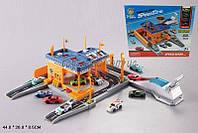 Паркинг гоночная станция AF1022   4авто,  в коробке 44*26*8, 5 см.