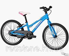 Велосипед TREK PRECALIBER 20 SS GIRLS синій, колеса 20