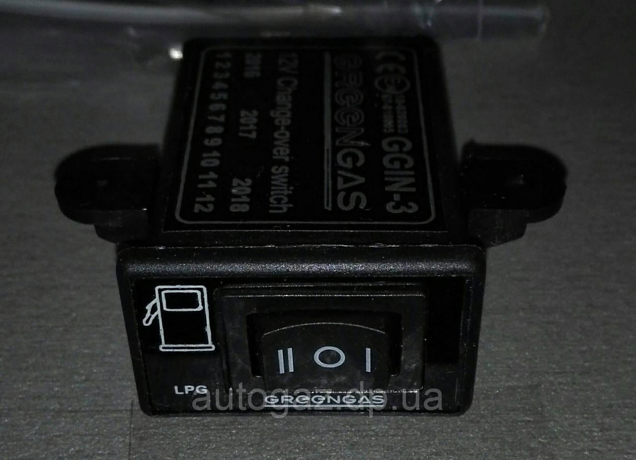 Кнопка переключения газ/бензин GREEN GAZ IN-3 инж. (шт.)