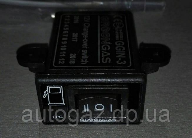Кнопка переключения газ/бензин GREEN GAZ IN-3 инж. (шт.), фото 2