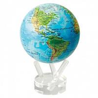 Самовращающийся глобус Физическая карта