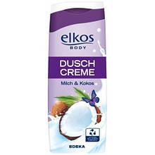 Гель для душу Elkos Body Duschcreme Milch&Cocos 300мл