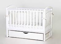 Детская кроватка Верес Сонька ЛД6 маятник с ящиком