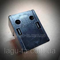 Реле пусковое 22ом, 2pin  для холодильника Samsung, LG. DA35-00099A, фото 3