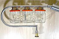 Дистиллятор самогонный  с тройным сухопарником