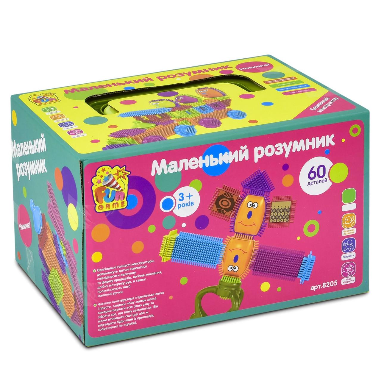 Конструктор игольчатый ТМ Fun Game арт. 8205