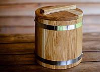 Кадка конусная дубовая 3 литр