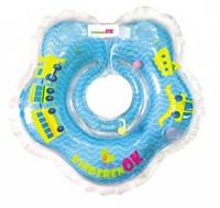 Круг для купания Киндеренок, синий