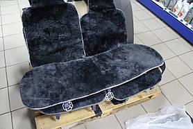 Комплект накидок для сидений из овечьей шкуры