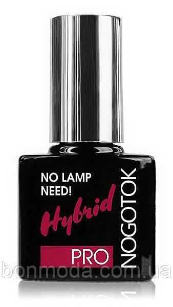 Стойкий лак для ногтей Nogotok Pro Hybrid No Lamp Need № 08