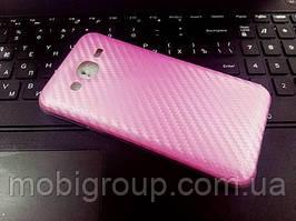 """Силиконовый чехол """"Карбон"""" для Samsung J5"""