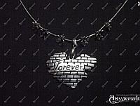 Кулон Forever в форме сердца