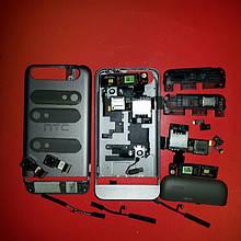 HTC t320e шлейф камера корпус антена кришка кнопка включення сім коннектор мікрофон дзвінок оригінал б/у