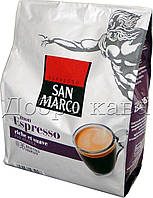 Кофе молотый в чалдах San Marco ESPRESSO (100% Арабика) 36 шт 250г