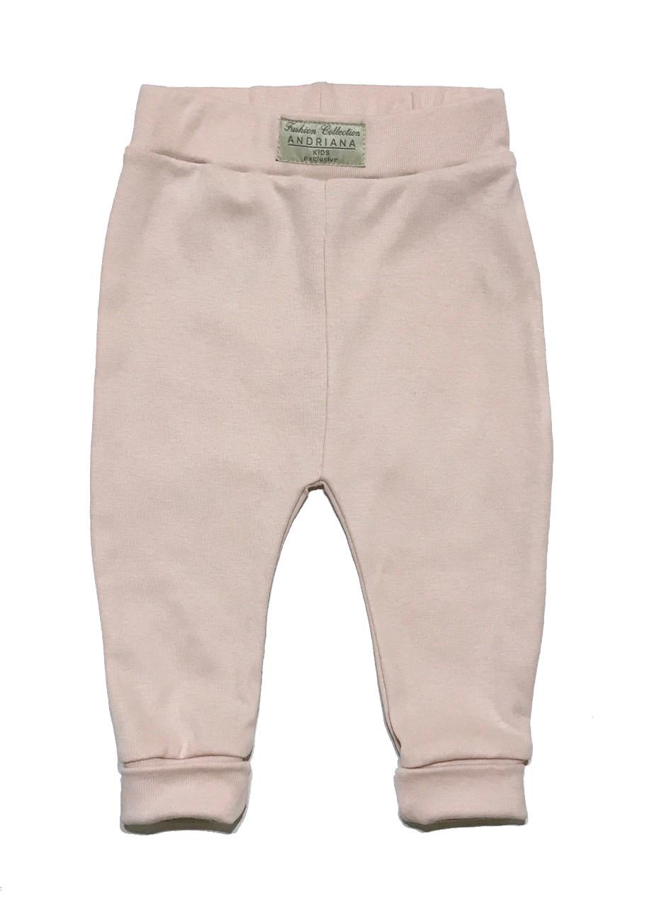 Дизайнерские штанишки 18,24,36 мес. Andriana Kids персиковые