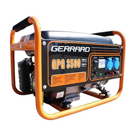 Генератор бензиновый Gerrard GPG 3500LPG ( с возможностью работы на газу)ГАЗ+Бензин, фото 2