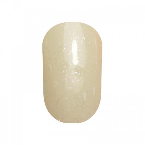 Гель лак Tertio 052 Глиттер из белых палочек и серебристого микроблеска 10 мл