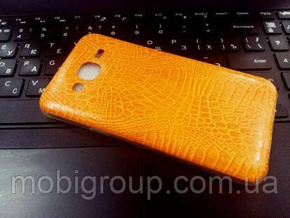 """Силиконовый чехол """"Крокодил"""" для Samsung J5"""