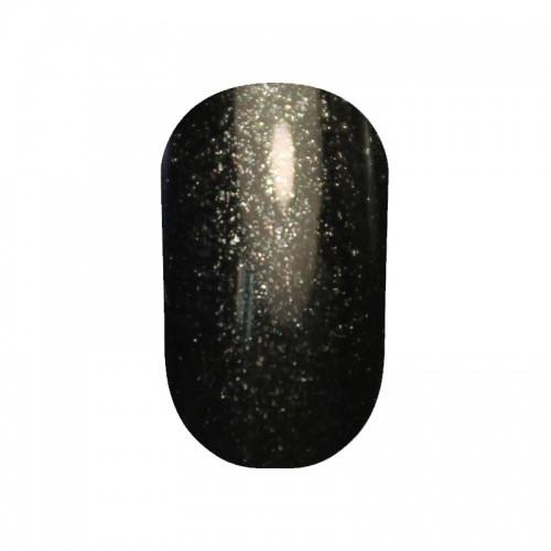 Гель лак Tertio 054 Черно-зеленый с микроблеском  10 мл