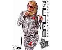 Молодежный женский спортивный  костюм  -  0956  р-р M   L  женская одежда от производителя Украина