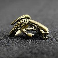 "Кольцо ""Alien"" Чужой против Хищника AVP: Alien vs. Predator бронза"