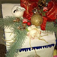 Новогодняя упаковка  для подарков ручной работы